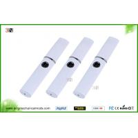 China White , Black 350MAH Dry Herb Vaporizers / Wax Oil Vaporizer with LCD Screen on sale