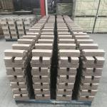 Common Kiln Refractory Bricks , Phosphate Bonded High Alumina Bricks Heat Resistant Manufactures