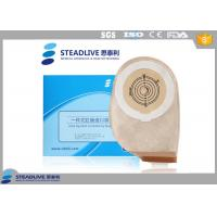 Excretion Colon Surgery Stoma Colostomy Bag With Velcro Closure , Non Woven Material Manufactures