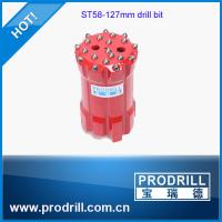 High Quality ST58 (110mm,115mm,127mm) Top hammer Threaded Rock Button Drill Bits Manufactures