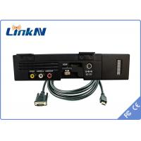 Buy cheap Military AES256 COFDM Video Transmitter with Battery from wholesalers