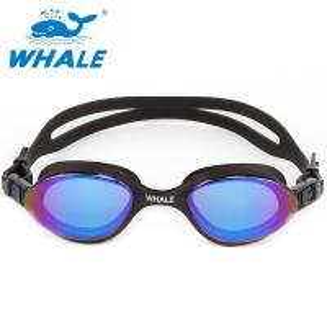 China Mirrored Anti Fog Swim Goggles Latex Free , Low Profile Design With Stream Lines Shape on sale