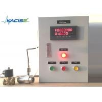China Kacise Diesel Fuel Flow Meter , Vegetable Oil Flow Meter With Batch Controller on sale