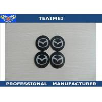 China Metal 55mm Wheel Center Cap Stickers , JAGUAR / Mazda Car Badge Logos on sale