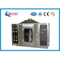 SUS 304 Flame Test Apparatus For Paper Plasterboard Fire Stability Combustion Manufactures