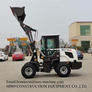 YUNNEI YN27 Engine 3T Construction Wheel Loader With Skid Steer Manufactures