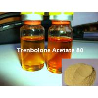 China Bodybuilding Injectable Trenbolone Acetate 80mg/ml Yellow Liquid Semi Finishied Steroids Oils on sale