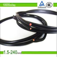 1.5mm2/10mm2 blue color pv solar photovoltaic cable Manufactures