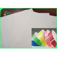 China Tear Resistance 1025D 1056D 1057D Colored Tyvek Fabric Paper For Wristbands on sale