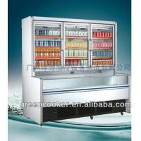 Static R134a Combination Freezer Side Joint Integrated For Shop / Market Manufactures