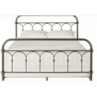 Adults Designs Plain Metal Frame Full Bed , 125mm Height King / Queen Size Iron Bed