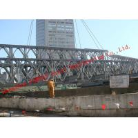 Quality HD200 Double Row Deck Type Modular Steel Bailey Bridge Hoisting Installation In for sale