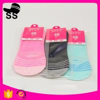 2017  Polyester  95% Spandex5% 28g 24cm Wholesale Summer Cotton Sweat-absorbent Invisible Winter Boat Socks Manufactures
