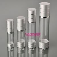 Airless pumps with silver ring 15ml,30ml,50ml,100ml Manufactures
