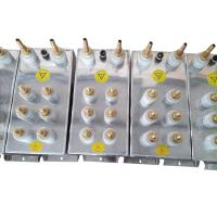 Low Voltage High Power Capacitors , Shunt Resistance Capacitor water cooled Manufactures