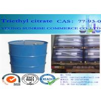 Buy cheap Triethyl Citrate Plasticizer CAS 77-93-0 C12H20O7 Light Fastness Oil Resistance from wholesalers