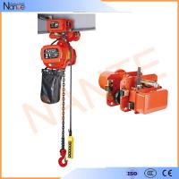 Cheap 1 Ton Pneumatic Electric Chain Hoist For Overhead Crane ISO / CE / CCC for sale