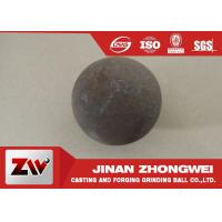 Cheap Grinding media steel ball with HRC  60-65 , abrasion resistance forged steel ball for sale