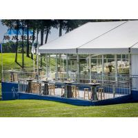 China Clear Span Large Frame Tent Light Frame Steel Structure For Soccer Ball Sports on sale