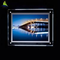 Decorative Clear Acrylic Led Light Box 4x6 4x5 5x7 Acrylic Picture Frame Manufactures