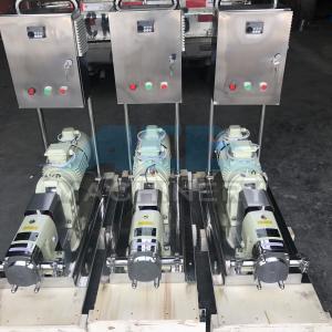 Sanitary Stainless Steel Heat Retaining Rotary Horizontal LobePump Rotary Lobe Pump for Washing Liquid Manufactures