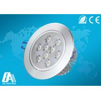 Super Bright 9 Watt Recessed Ceiling Lights Cool White Beam Angle 45° 50hz ~60hz Manufactures