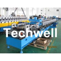 21KW 45# Steel Sigma Profile Roll Forming Machine With 16 Steps Forming Station Manufactures