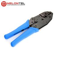 Blue 0.25-6mm Copper Wire Tools MT 8306 , Cold Press Terminal Pliers Pin Crimping Tool Manufactures