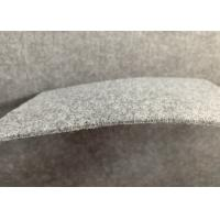 China Furry Surface Non Woven Felt Fabric Automotive Felt Carpet Gray Color 3mm Thickness on sale