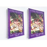 Spiral Binding Paperback Softcover Book Printing 40gsm - 350gsm Paper Weight Manufactures