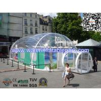 Large Trade Show Inflatable Clear Tent Bubble Dome Tent For Display Event Manufactures