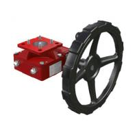Clutch Handwheel Gear Operator  Worm Gear Reducer Cooperate With Pneumatic Actuator Manufactures