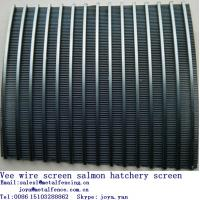 Stainless steel easy cleaning vee wire sieve screen grain drying screen Manufactures