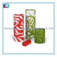 Tea Packing Flat Paper Can Manufactures