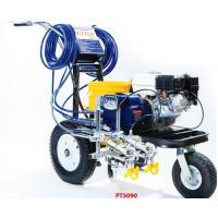 Petrol Engined Road Line Marking Machine 4.0L/Min Delivery Rate Manufactures