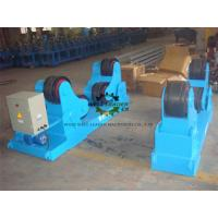 Rubber Coated Self Aligned Welding Rotator For Tank Boiler Wind Tower Fabrication