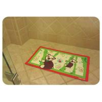 China Healthty Anti Fatigue PVC Anti Slip Bath Mat With Suction Cups , Baby Bathtub Mat on sale