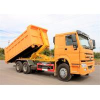 Right Hand Drive HOWO 6X4 Hook Lift Garbage Truck 15t 20t Refuse Compactor Truck Manufactures