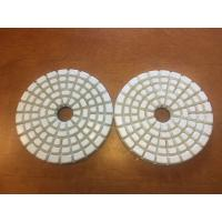 High Effiective 4'' Dry Polishing Pads With 5 Steps to Polish Manufactures