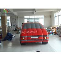 Quality Full Color Inflatable Advertising Products Cartoon Model Car For Display for sale
