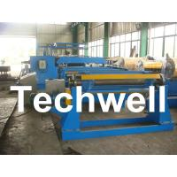 380V / 50Hz / 3Ph 30KW Simple Slitting Line For Slitting Coil Into 12 strips Manufactures