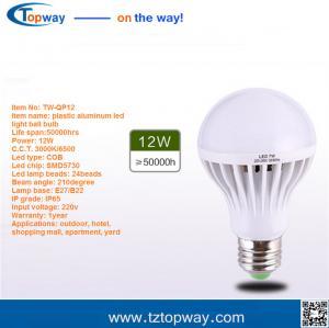 super bright energy saving aluminum housing 3000 lumen 18w e27 led bulb lighting
