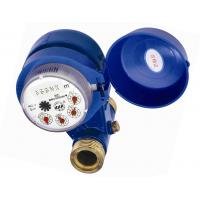 Grey Iron Housing Vertical Water Meter DN15 - 25 With Magnetic Drive Impeller Manufactures