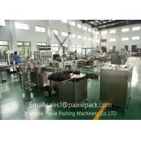 China Bottle Powder Milk Auger Filling And Capping Machine Fully Automatic Grade on sale