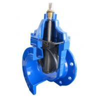 Cheap C.I. Sluice Valve 100MM P/E With PN 10 Resilient Seated Standard Complies DIN 3352 for sale
