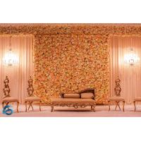 China Handmade Plastic Artificial Flower Wall Corrosion Resistance For Large Event on sale