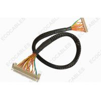 China Industrial 1.0mm LVDS Cable Assembly Twisted LVDS LCD Display Cable Harness on sale