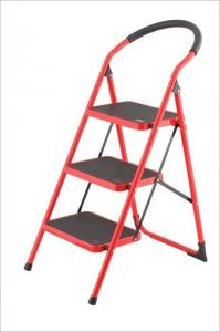 Non Insulated 3 Rungs 0.9mm Steel Step Ladder Manufactures