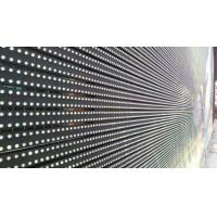 P16 Outdoor Transparent Glass LED Screen Video Curtain SMD505 With 640x640MM