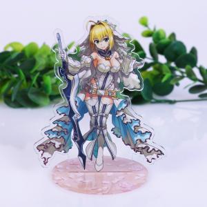 Custom Acrylic Countertop Display Case Standee Anime Figure Printed Acrylic Keychain Manufactures